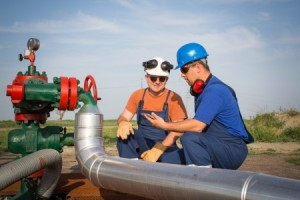 Oil and Gas Well site supervision