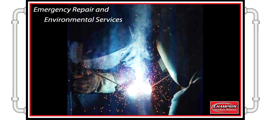 Emergency Repair and Environmental Services champion oilfield service