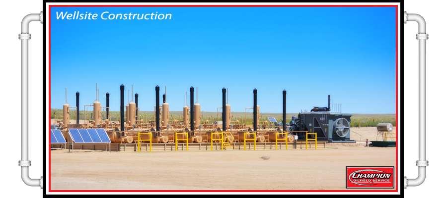 Oilfield Wellsite Construction