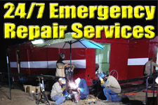 24/7 Oil and Gas Well Site Emergency Repair Services