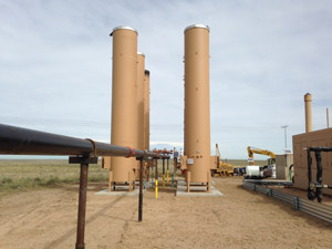 Oil and Gas field custom fabrication services in Colorado