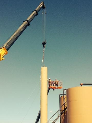 oilfield wellsite construction